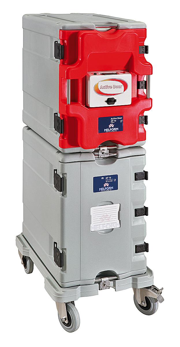 Sistema modular activo AF12 - permite la composición modular de los contenedores AF12.