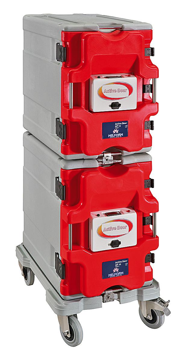 Sistema modular activo AF12 - permite la composición modular de los contenedores AF12. 2 puertas activas digitales.