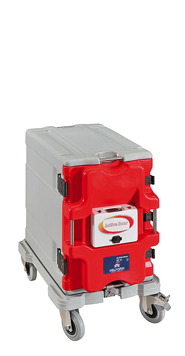 Sistema modular activo AF12 - permite la composición modular de los contenedores AF12. Sistema mono con puerta activa digital.