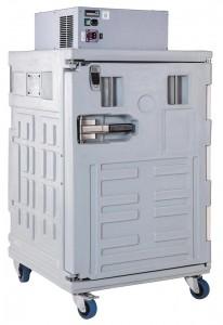 KOALA 370 P - Frigorífico portátil con apertura frontal de 160 litros de capacidad. Rango de regulación de la temperatura: de 0 °C a +10 °C.