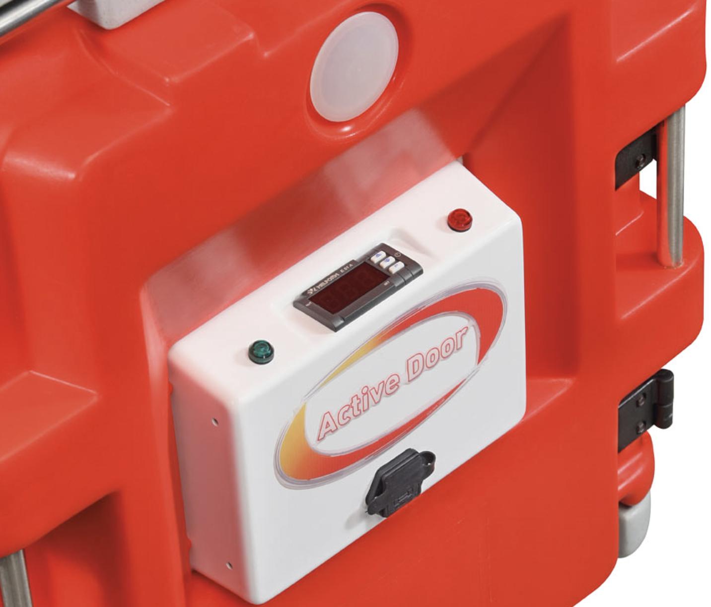 Puerta activa AF7 230V - Sistema de activación por alimentación elérctrica AF7. Kit calefacción elérctrica 230V digital.