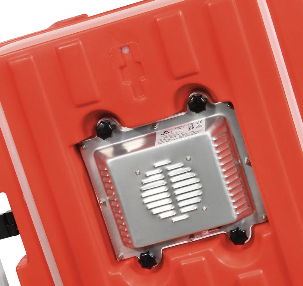 Puerta activa AF7 230V - Sistema de activación por alimentación elérctrica AF7. Protección interna de acero inoxidable 2.