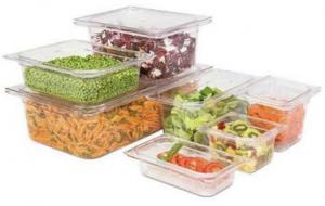 Cubetas Gastronorm para el transporte y almacenamiento de comidas